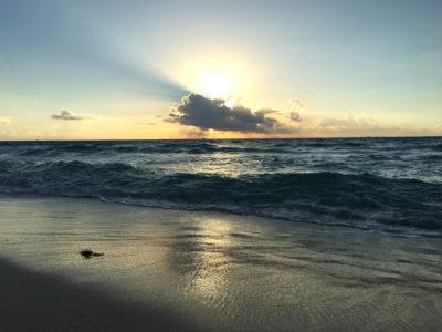 Levé de soleil Mexique