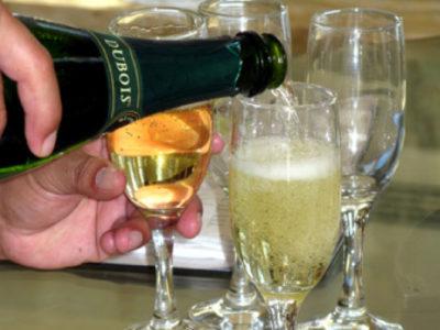 flutes de champagne
